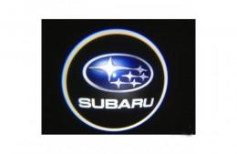 Проекция логотипа Subaru. Проводные проекторы 5 Вт
