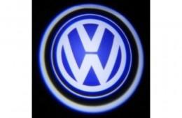 Проекция логотипа Volkswagen. Проводные проекторы 5Вт
