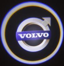 Проекция логотипа Volvo. Проводные проекторы 5 Вт