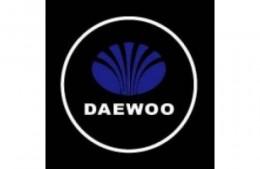 Проекция логотипа Daewoo.Беспроводные проекторы 7Вт