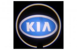 Проекция логотипа Kia.Беспроводные проекторы 7Вт