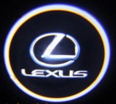 Проекция логотипа Lexus . Беспроводные проекторы 7Вт