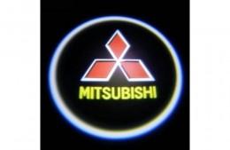 Проекция логотипа Mitsubishi. Беспроводные проекторы Mitsubishi 7 Вт