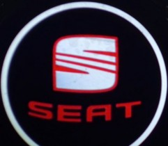 Проекция логотипа Seat. Беспроводные проекторы 7Вт