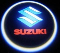 Проекция логотипа Suzuki . Беспроводные проекторы 7 Вт