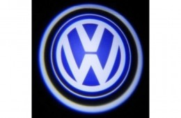 Проекция логотипа Volkswagen. Беспроводные проекторы Volkswagen 7 Вт