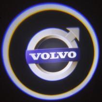 Проекция логотипа Volvo. Беспроводные проекторы 7Вт