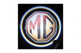 Проекция логотипа MG. Беспроводные проекторы 7 Вт