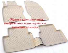 Unidec Ковры салонные для Honda Pilot III 3D (2015) (5 мест) Бежевый
