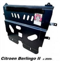Zachita Citroen Berlingo II (2008-) (кроме двс евро 6) ДВС+КПП