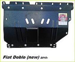 Fiat Doblo (2010-) ДВС+КПП Zachita