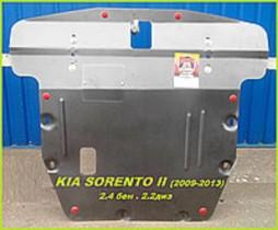 Kia Sorento 2 (2009-2013 (V 2.4 бен . 2.2диз) ДВС+КПП Zachita