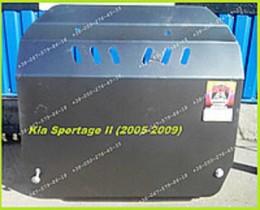 Kia Sportage (2005-2009) ДВС+КПП Zachita