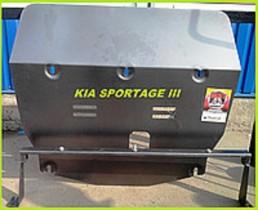 Kia Sportage (2010-2015) ДВС+КПП Zachita