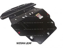 Zachita Nissan LEAF(2010-) силовой установки 2 листа