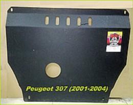 Zachita Peugeot 307 (2001-2004 )(V-Bcе) ДВС + КПП
