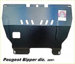 Peugeot Bipper (2007-) (двс только дизель) ДВС + КПП Zachita