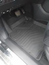 Резиновые коврики в салон Nissan Rogue 2015- СРТК