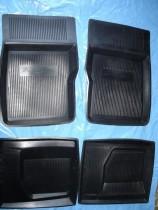 Резиновые глубокие коврики ГАЗ 2410-3110 ЗРТИ