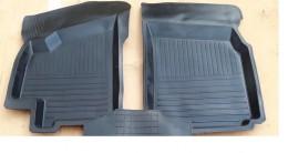 Резиновые глубокие коврики Lanos Sens (передние) ЗРТИ
