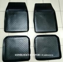 Резиновые глубокие коврики ВАЗ 2101-2107 (комплект) ЗРТИ