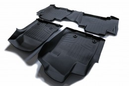Резиновые коврики в салон Toyota Prado 120/ Lexus GX 470