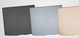 Коврики в багажник Volkswagen Teramont (2017) серый (сложенный 3 ряд) Unidec
