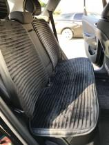 Fashion Накидка для сидений Monako Plus черный (комплект)