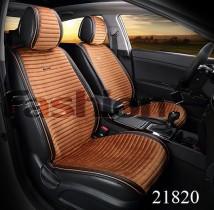 Накидка для сидений Monaco Front коричневый (передние)