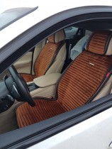 Накидка для сидений Monaco Front коричневый (передние) Fashion