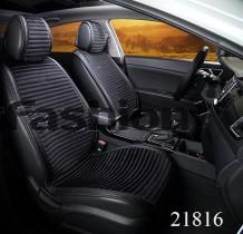 Fashion Накидка для сидений Monaco Front черный (передние)