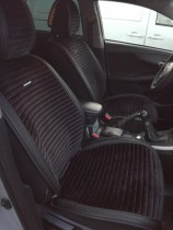 Накидка для сидений Monaco Front черный (передние) Fashion