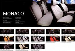 Fashion Накидка для сидений Monaco Plus бежевый (комплект)