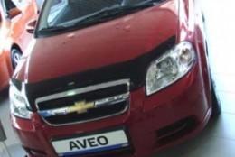 Sim Дефлектор капота Chevrolet Aveo  Хэтчбек (2008-2011)/ Ravon R3 (2016-)