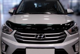 Sim Дефлектор капота   Hyundai Creta (2016-)
