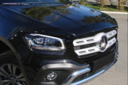 Дефлектор капота  Mercedes X-Class (2018-)