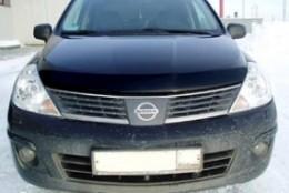 Дефлектор капота  Nissan Tiida (2006-)  Sim