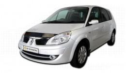 Дефлектор капота Renault Scenic/Grand Scenic (2006-2009) Sim