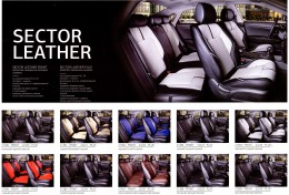 Fashion Накидка-чехол для сидений Sector Leather (комплект)