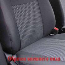 Чехлы на сидения  Fiat Doblo Panorama 2001-2015 (1+1 передние) Prestige