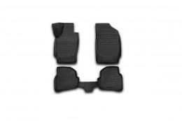 NovLine                 Коврики 3D в салон VW Polo 2010->, сед., 4 шт. (полиуретан)