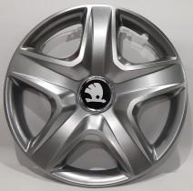 202 Колпаки для колес на Skoda R14 (Комплект 4 шт.) SKS