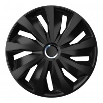 Колпаки для колес Grip Pro Black R14 (Комплект 4 шт.) 4 Racing