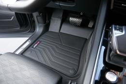 Коврики в салон резиновые 3D LUX Volkswagen Touareg III (2018-) САРМАТ
