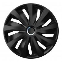 4 Racing Колпаки для колес Grip Pro Black R15 (Комплект 4 шт.)