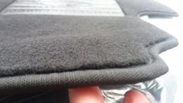 Milex Коврики в салон ворсовые (черные)