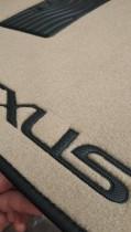 Milex Коврики в салон ворсовые (серый/бежевый)