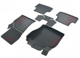 Коврики в салон резиновые 3D Volkswagen Golf VII (2013-) САРМАТ