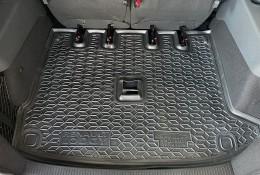 Коврики в багажник Renault Lodgy (2018-) раздельный 3ряд GAvto