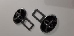 Заглушки ремней безопасности Toyota (черный)